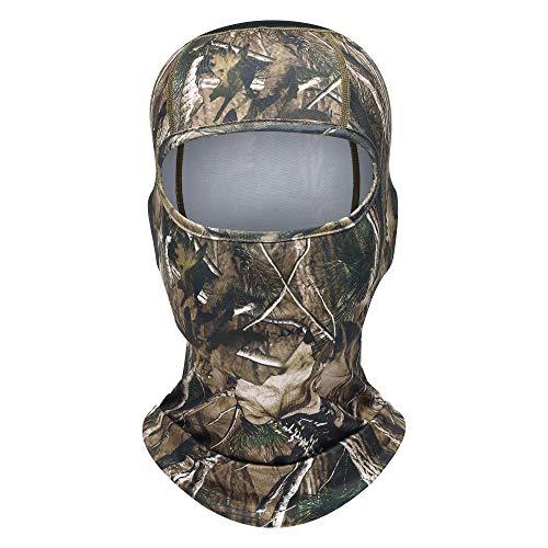 TAGVO Jagd Balaclava Voll Gesichtsmaske Maschenweite Radfahren Camouflage Balaclava Taktische Kapuze Ninja Headwear, Helme Liner für Erwachsene elastische Universalgröße