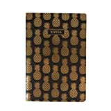 Best Pineapples - Sass and Belle A5 sized Notebook - Black Review