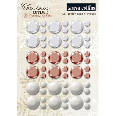 Christmas Cottage Teresa Collins Design sfaccettato