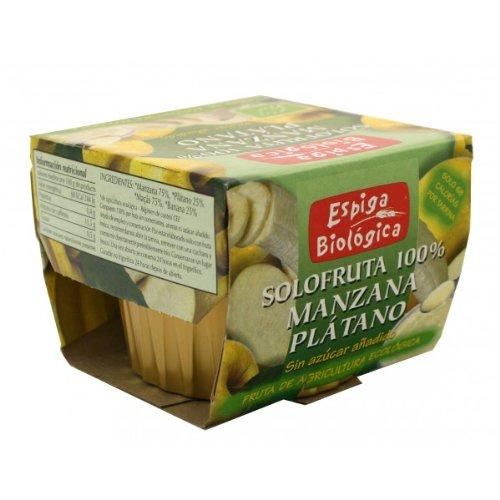 Espiga Biologica Solofruta 100% Manzana Y Platano