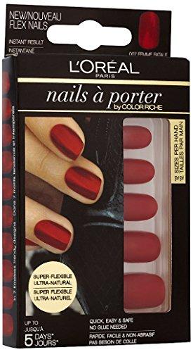 L'Oréal Paris Nails a Porter Flex 007 Femme Fatale