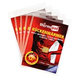 Thermopad Rücken-Wärmer | Heiz-Pad für den Rücken | 12 Stunden wohltuende Wärme von 53°C | angenehmes Wärmekissen | einfache Anwendung, sofort einsatzbereit | 5er Pack