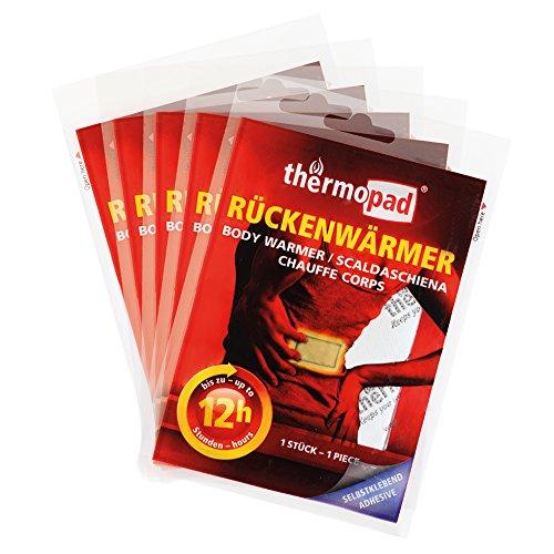Natürliche Heiz-pad (Thermopad Rücken-Wärmer | Heiz-Pad für den Rücken | 12 Stunden wohltuende Wärme von 53°C |  angenehmes Wärmekissen | einfache Anwendung, sofort einsatzbereit | 5er Pack)