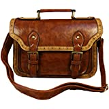 Whoinshop Women's Synthetic Vintage Leather Retro Messenger Bags Satchel Handbag