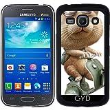 Hülle für Samsung Galaxy ACE 3 S7272/A7275 - Ausreißer Katze by Adam Lawless