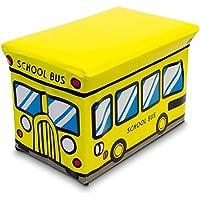 Preisvergleich für DKB Spielzeugbox und Sitzbank in einem Staubox Kunstleder