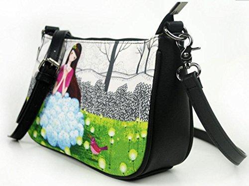 HYLM Sacchetto di spalla della borsa della tela di canapa del nuovo sacchetto di tela di canapa di nuovo sacchetto di spalla nazionale della borsa di stile nazionale cinese , u04 u06