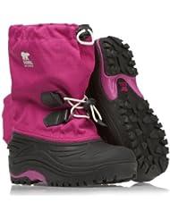 Sorel Super Trooper - botas de nieve de material sintético niña rosa rosa Talla:UK 05