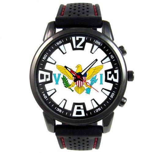 virgin-islands-eeuu-estado-reloj-para-hombre-con-correa-de-silicona