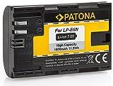 Bundlestar Patona Qualitätsakku für Canon LP-E6N mit Infochip - Intelligentes Akkusystem -
