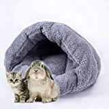 Youkara Deluxe Soft Washable Dog Pet Warm Basket Bed Cushion Puppy Kitten Washable Pet Comfortable Cat Pad Waterloo 40 * 40CM (Gray)
