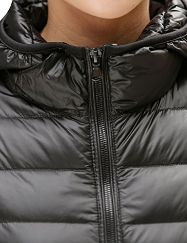 CHERRY CHICK Womens Light Weight Down Jacket with Hood