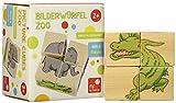 Bilderwürfel Zoo: Aus Vier Würfeln sechs Tiere Zaubern