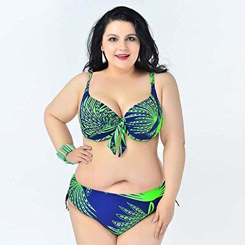 Mme summer maillot de bain, maillot de bain bikini réciter le serré-YU&XIN Light Green