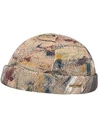 Bonnet Docker Splash Stetson beanie en coton bonnet ample
