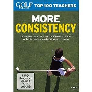 Golf Magazine Top 100 Teachers - More Consistency [Import anglais]