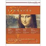Aquarellblock Leonardo satiniert 600g/m, 30x40cm, 10Blatt