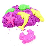 Fully Colorful Play Sand Set with Moulds for Kids Fun Activity Play Game