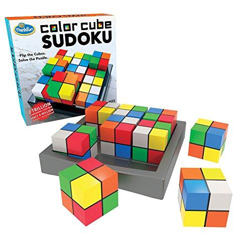 ThinkFun Color Cube Sudoku - Divertente e premiato versione di Sudoku con colori invece dei numeri, per bambini dagli 8 anni in su