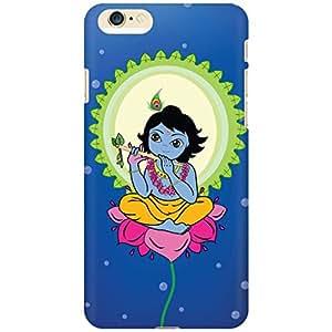 URBAN KOLOURS Original Designer Printed Hard Case Back Cover for Apple iPhone 6 (Flute Krishna)