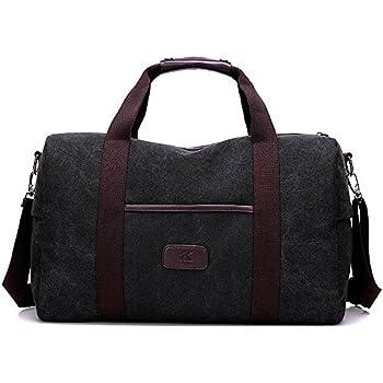 Sel Natural sac de voyage Toile Holdall grand sac à main de week-end Voyage Sac Totes Sac à bandoulière EtVemMQquw
