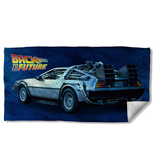 Back To The Future Beach Towel