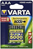Varta 7480968 Professional - Pilas AAA (1,2 V, 1000 mAh, 10 paquetes de 4unidades)