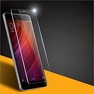 Redmi 4, Tempered Glass , Premium Real 2.5D 9H Anti-Fingerprints & Oil Stains Coating Hardness Screen Protector Guard for Xiaomi Redmi 4