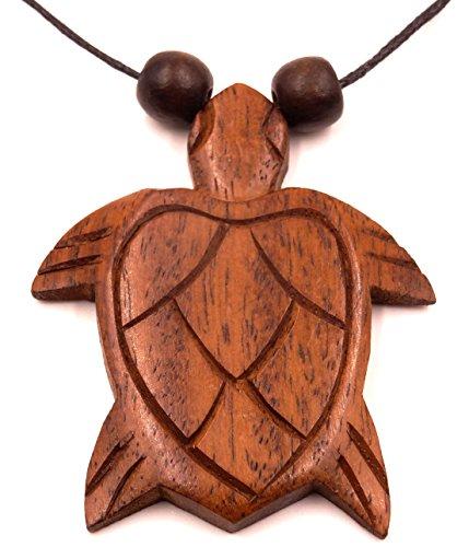 Collar con colgante étnico de madera,...