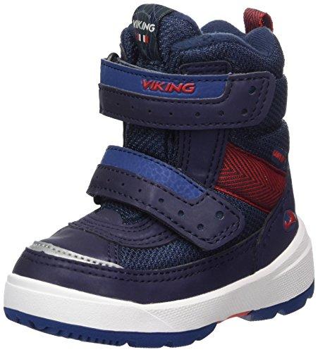 viking Unisex-Kinder Play II Bootsportschuhe, Blau (Reflex/Navy), 25 EU