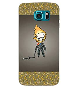 PrintDhaba Funny Image D-4627 Back Case Cover for SAMSUNG GALAXY S6 (Multi-Coloured)