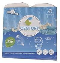 Century Bathroom Tissue/Toilet Roll - 4 Roll in 1 Packet