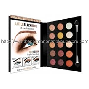 L.A. Colors Little Black Book of Eyeshadows ~ 15 Color Eyeshadow Palette ~ Natural 73695