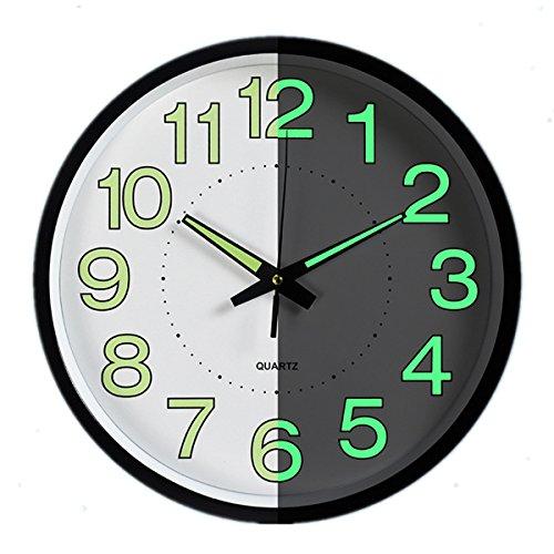 horloge murale silencieuse retro le classement des meilleurs de f vrier 2019 zabeo. Black Bedroom Furniture Sets. Home Design Ideas