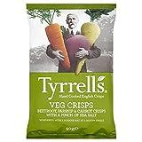 Tyrrells Veg Crisps Beetroot, Parsnip & Carrot 40g - Pack of 6