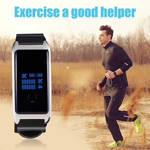 Smart-Bracelet-LESHP-Smart-Fitness-Bracelets-Waterproof-Smartwatch-Bluetooth-40-OLED-Touch-Screen-Smart-Fitness-Band-Activity-Pedometer-Wristband-Sleep-Tracker-for-Android-and-iOS-System