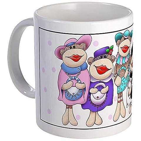 CafePress - Sock Monkeys - Unique Coffee Mug, Coffee Cup, Tea Cup