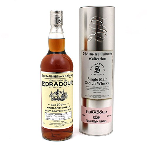 edradour whisky Edradour 2008-10 Jahre Sherry Cask - Signatory Vintage Un-Chillfiltered Collection 46%