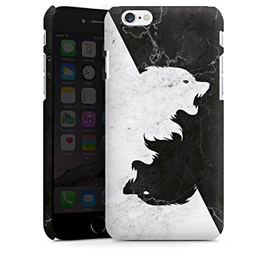 Apple iPhone 6s Hülle Silikon Case Schutz Cover Game of Thrones Wolf GOT Premium Case matt
