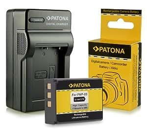 Chargeur + Batterie NP-85 NP85 pour Fuji Fujifilm Finepix F305   SL240   SL260   SL280   SL300   SL305   SL1000 et bien plus encore… [ Li-ion; 1700mah; 3.7V ]