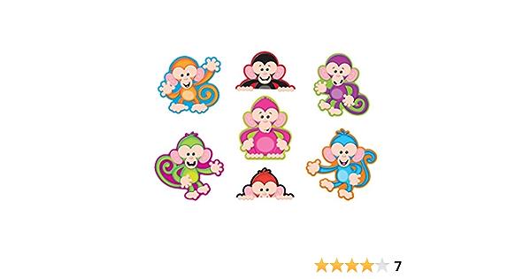 Trend Enterprises Color Monkeys Classic Accents Variety Pack 42 Piece Amazon Co Uk Toys Games