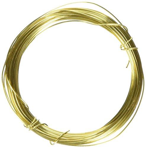 Filo di Ottone Oro 0,6mm x 10m - per hobbistica gioielleria (Uso Domestico)