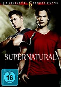 supernatural die komplette sechste staffel 6 dvds jared padalecki jensen ackles. Black Bedroom Furniture Sets. Home Design Ideas