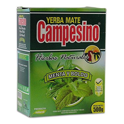 Mate tè Campesino menta Y-500g di (Tè Mate)