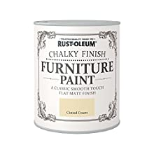 Rust-Oleum Chalky Finish Furniture Paint - Clotted Cream - 750ml