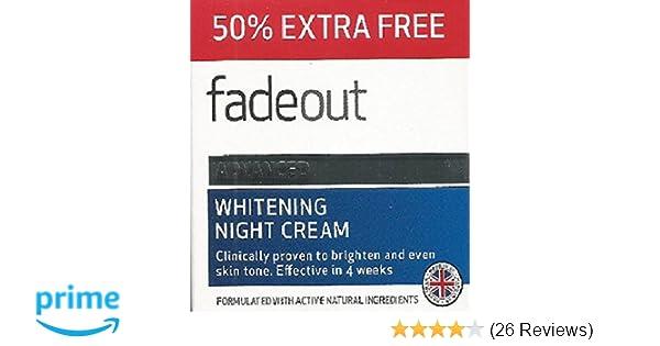 Fade Out Whitening Night Cream 75ml