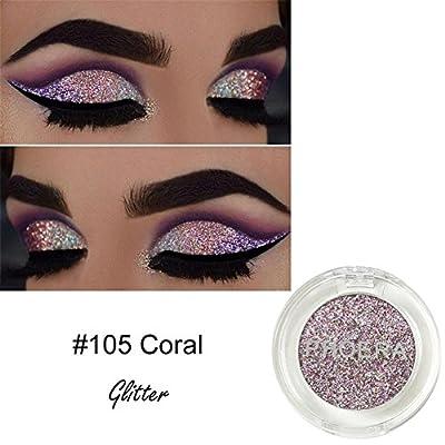 Colinsa Lidschatten-Make-up-Palette Glitter Lidschatten