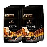 Tchibo Espresso Sizilianer Art, 8kg ganze Bohne, Kaffee-Genuss für Vollautomaten, Siebträger