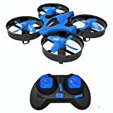SKYKING Drones para niños Nano Mini UFO Quadcopters con giro de 360...