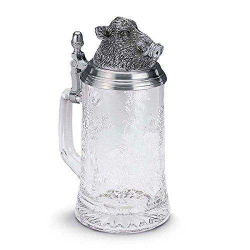 Artina 93356 Sternbodenseidel Wildschwein, Glas -